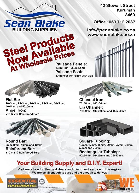 Sean Blake Building Supplies - Steel Products