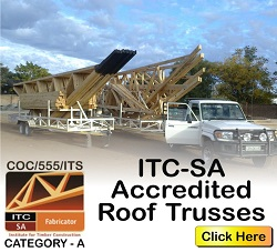ITC-SA Accredited Timber Roof Truss