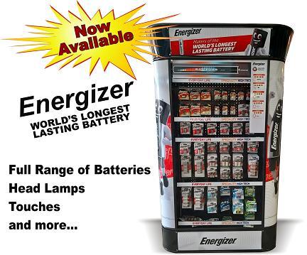 Energizer Batteries & Accessories